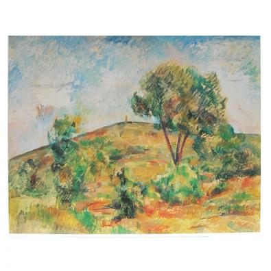 Paul Cezanne Landschaft bei Aix-en-Provence