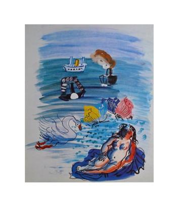 Raoul Dufy Amphitrite