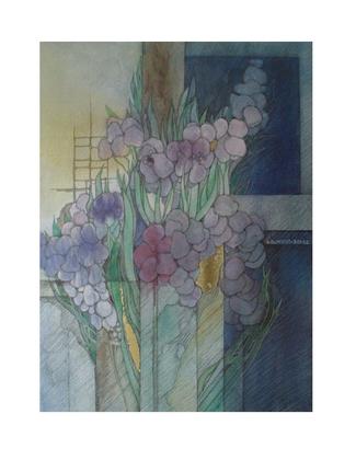Hildegard Schmidt-Roose Blumenstudien I