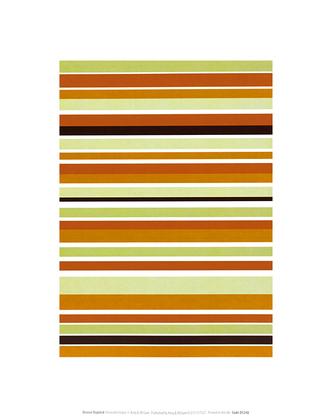 Denise Duplock Terracotta Stripes