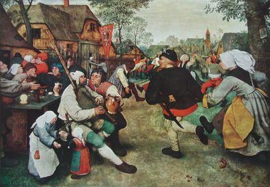 Pieter Brueghel Der Bauerntanz
