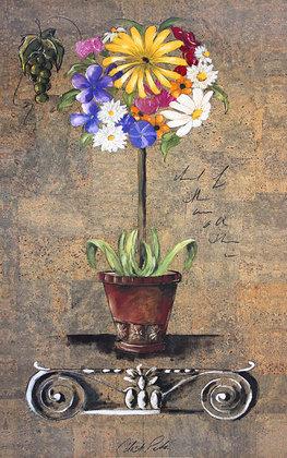Celeste Peters Corinthian Floral II