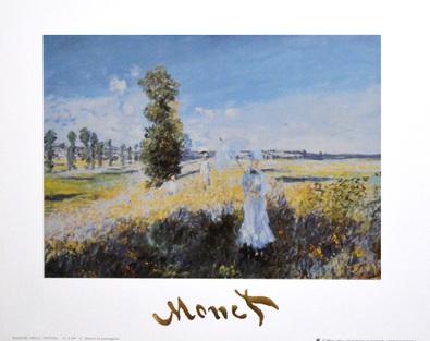 Claude Monet Der Spaziergang