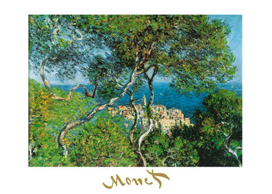 Claude Monet Ansicht von Bordighera