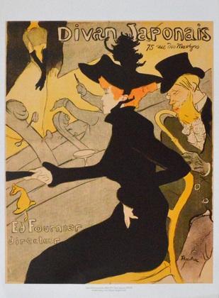 Henri de Toulouse-Lautrec Divan Japonais, 1892/1893