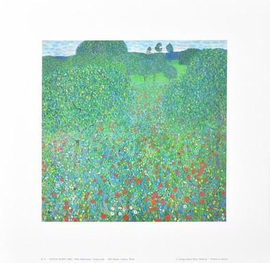 Gustav Klimt Mohnwiese K 12