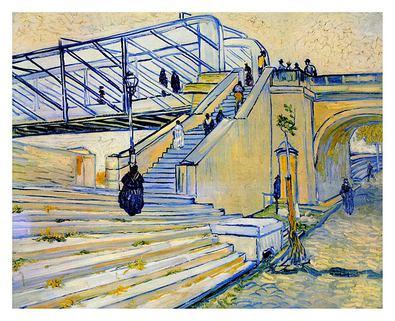 Vincent van Gogh Railway Bridge at Trinquetaille