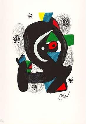 Joan Miro La Melodie Acide XIV
