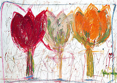 Ursula Meyer Petersen 3 Tulips