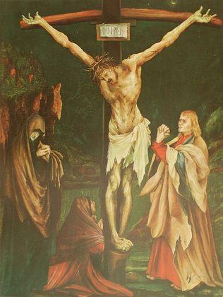 Matthias Gruenewald Die kleine Kreuzigung