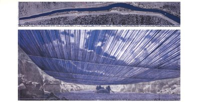 Christo Over The River VIII, Project for Arkansas River