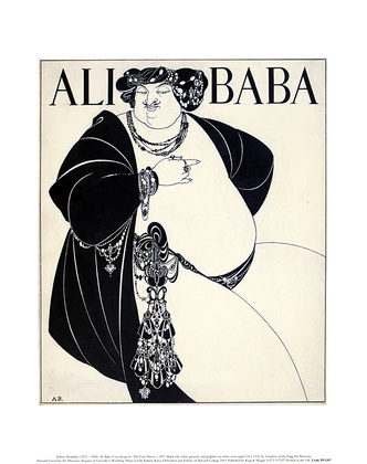Aubrey Beardsley Ali Baba (klein)