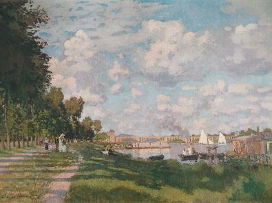Claude Monet Der Hafen von Argenteuil (Seinebecken)