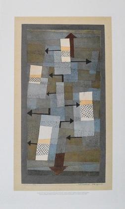Paul Klee Schwankendes Gleichgewicht, 1922
