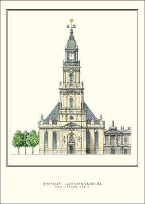 Philipp Gerlach Potsdam, Garnisionskirche