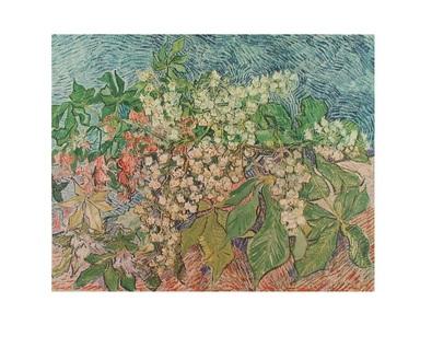 Vincent van Gogh Bluehender Kastanienzweig