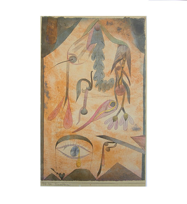 paul klee trauerblume poster kunstdruck bei. Black Bedroom Furniture Sets. Home Design Ideas