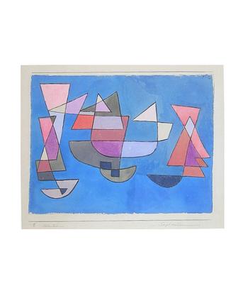 Paul Klee Segelschiffe