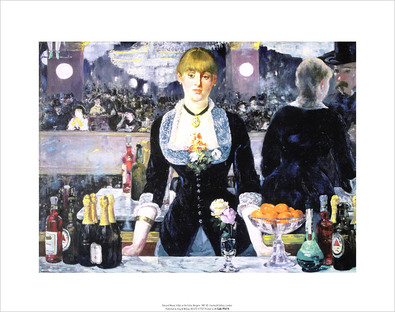 Edouard Manet A Bar at the Folies-Bergere (36x28cm)