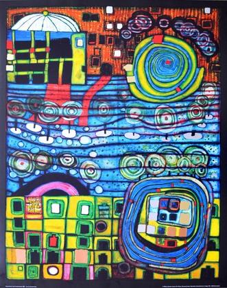 Friedensreich Hundertwasser Die vier Einsamkeiten