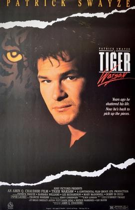 Kinoplakat Tiger Warsaw