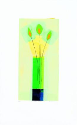 Russel Baker Green Vase (2000)