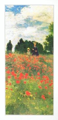 Claude Monet Mohnblumen Les Coquelicots (Detail)