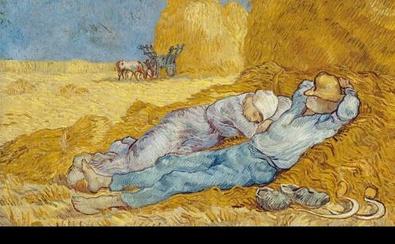 Vincent van Gogh Mittagsrast