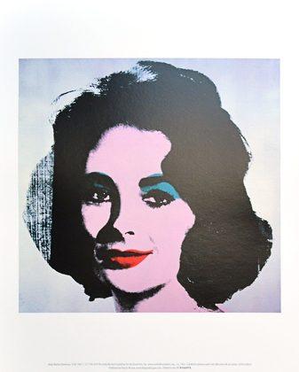 Andy Warhol Liz 1963