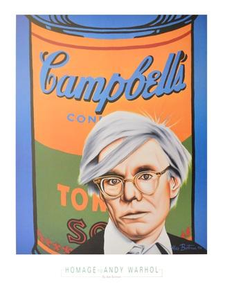 Alan Bortman Hommage to Andy Warhol