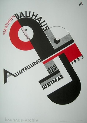 Joost Schmidt Bauhaus Ausstellung 1923