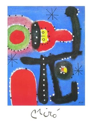 Joan Miro Peinture