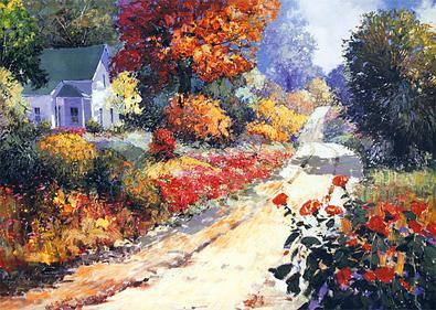 Kent R. Wallis Autumn Lane