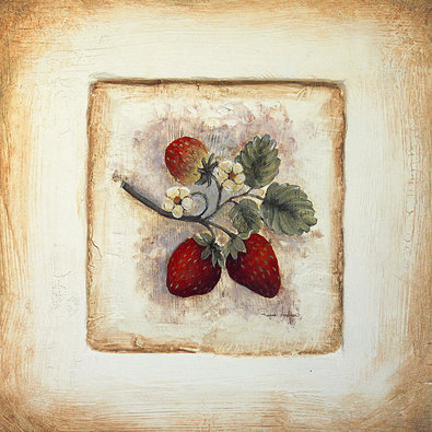 Regina Andrew 3er Set 'Strawberry Tile' + 'Mulberry Tile' + 'Raspberry Tile'
