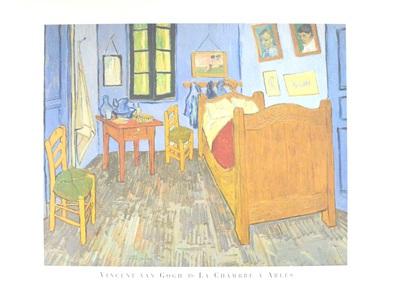 Vincent  van Gogh Das Zimmer in Arles