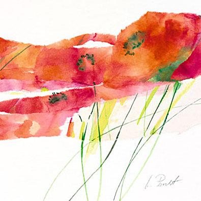 Marta Peuckert Modern Poppy V