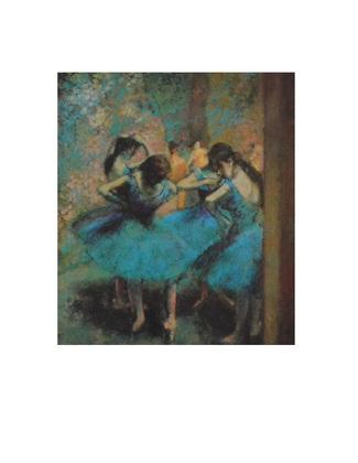 Edgar Degas Die blauen Taenzerinnen