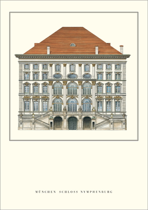 Enrico Zuccalli Muenchen, Schloss Nymphenburg