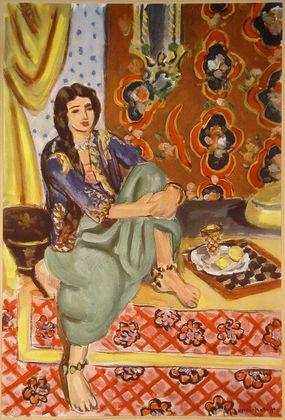 Henri Matisse Odaliske