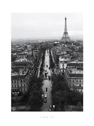 Peter Miller Eiffel from Etoile, 1956-58