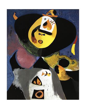 Joan Miro Portrait No. 1, 1938