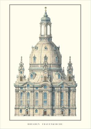 George Baehr Dresden, Frauenkirche