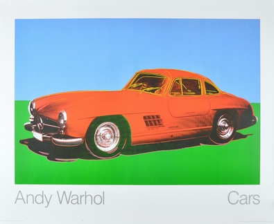 Andy Warhol Cars 300 SL Coupe Bj 1954 rot