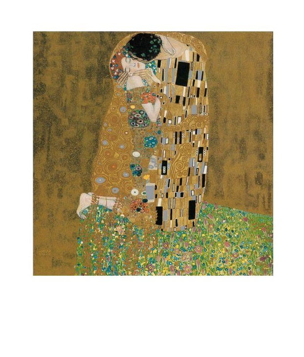 gustav klimt der kuss poster kunstdruck bild 30x24cm ebay. Black Bedroom Furniture Sets. Home Design Ideas