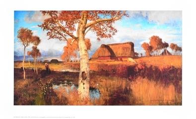 Otto Modersohn Herbst im Moor