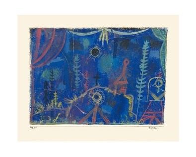 Paul Klee Einsiedelei, 1918