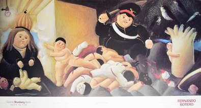 Fernando Botero Massacre de los innocentes Det.1