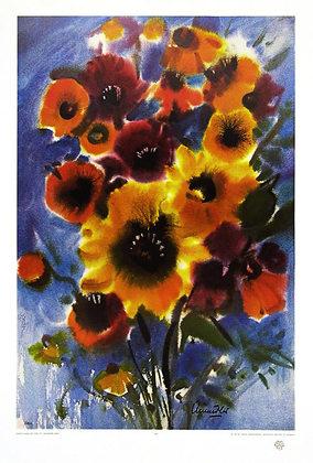 Franz Aumueller Sommerblumen