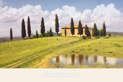 Jim Chamberlain Tuscan Hillside 5