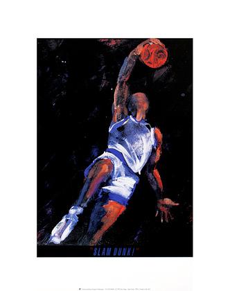 Terry Rose Slam Dunk
